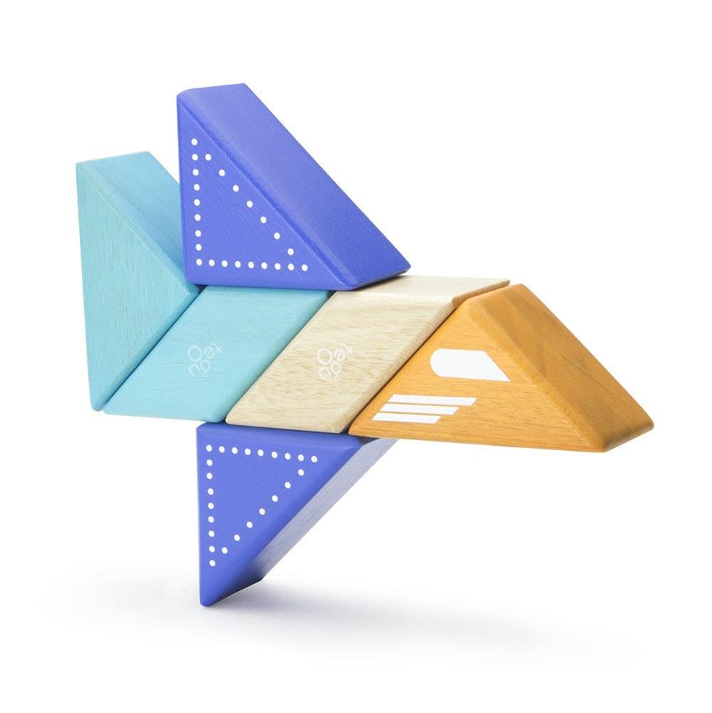 Tegu Holzspielzeug Magnetische Bausteine Düsenflugzeug