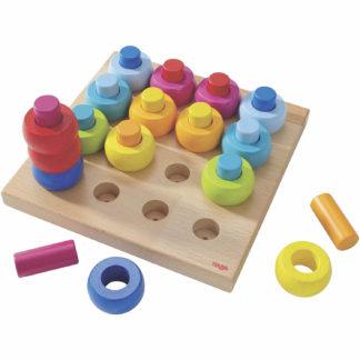 Haba - Holzspielzeug - Steckspiel Farbkringel