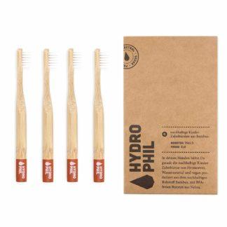 Kinder-Zahnbürste aus Bambus