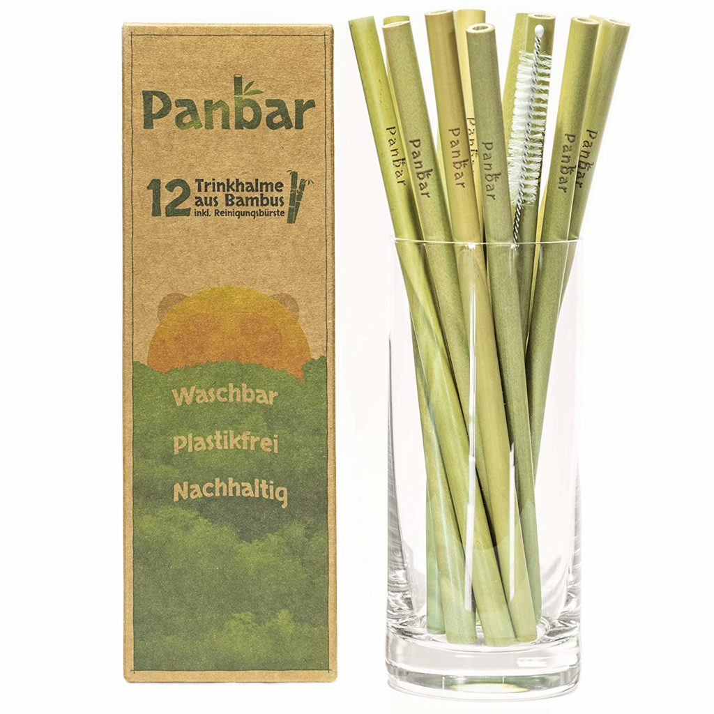 Panbar Strohhalme aus Bambus