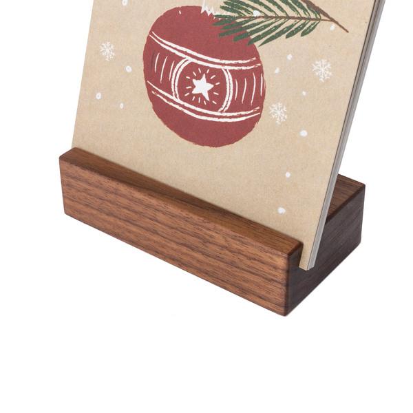 Adventskalender mit Karten Nussbaum