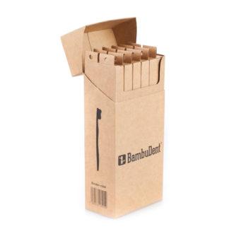 Bambudent Zahnbürste aus Bambus Klassik