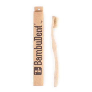 Zahnbuerste aus Bambus Sensitiv 1 Stück