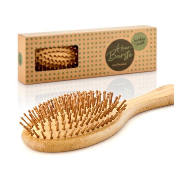 Bambus Haarbuerste