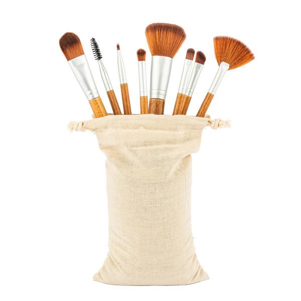 Bambus Make Up Set 8 teilig