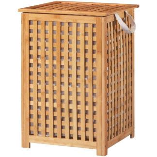 Bambus Wäschekorb