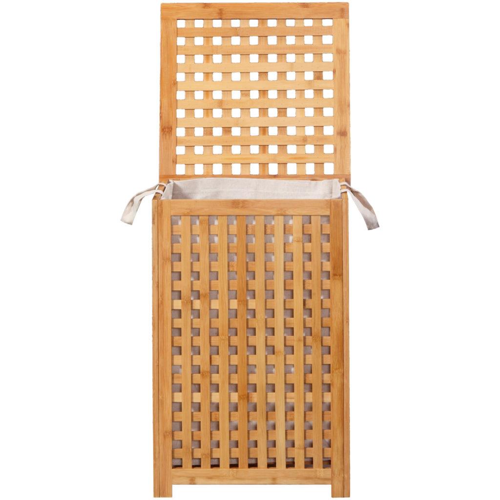 Bambus Wäschekorb Naturprodukt