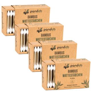 Bambus Wattestäbchen für Babys
