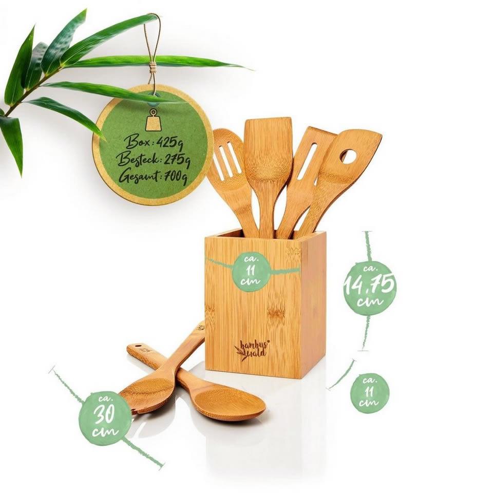 Bambuswald Küchenhelfer