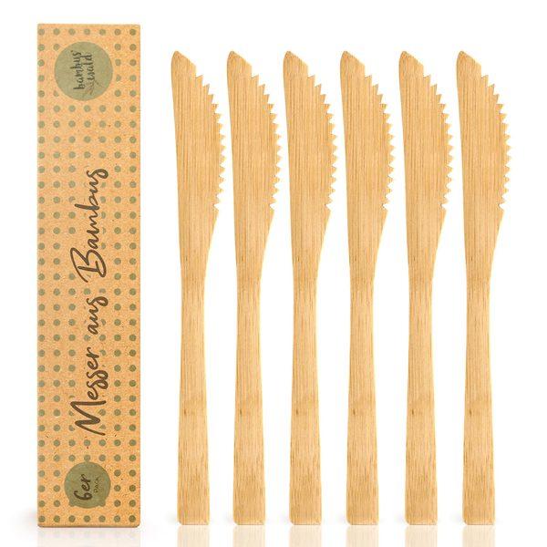Bambuswald Messer 6 Stück