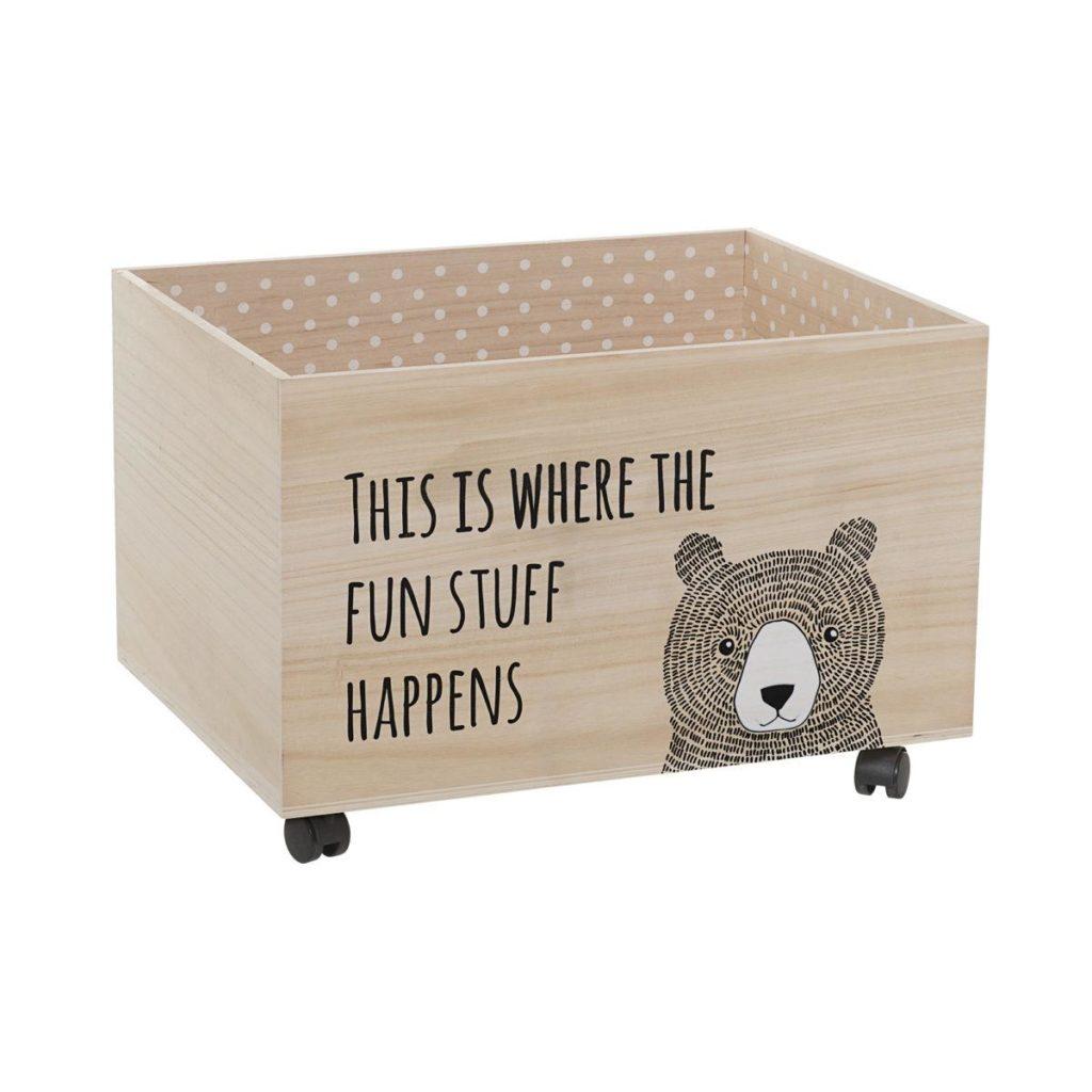 Bloomingville Aufbewahrungsbox für Kinder aus Holz