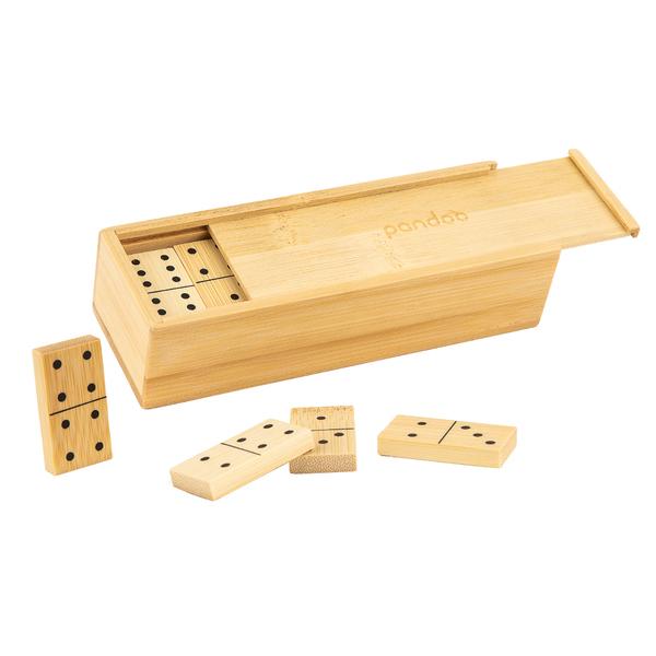 Domino aus Bambus
