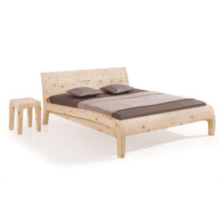 Dormiente Zirbenholzbett Beluga