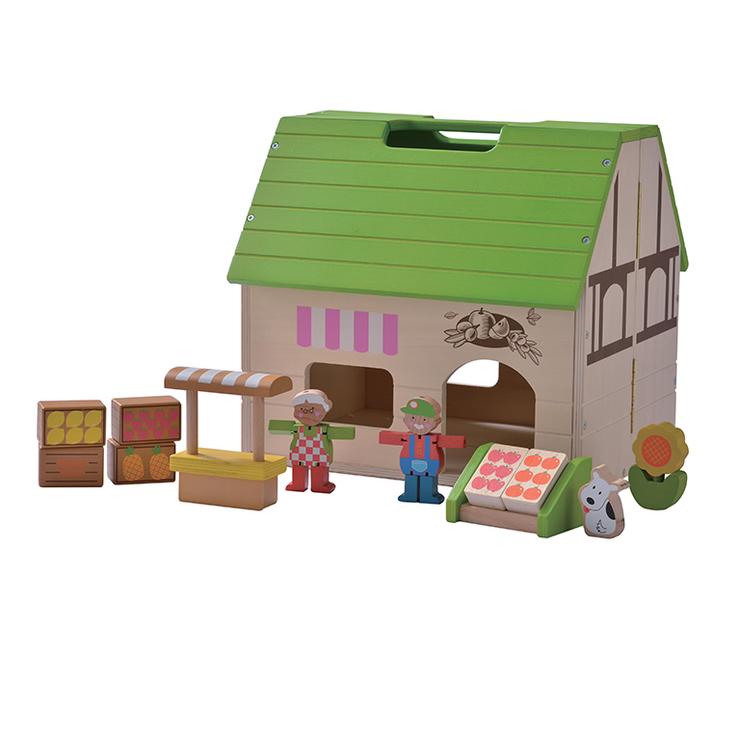 Everearth Puppenhaus Bio Laden