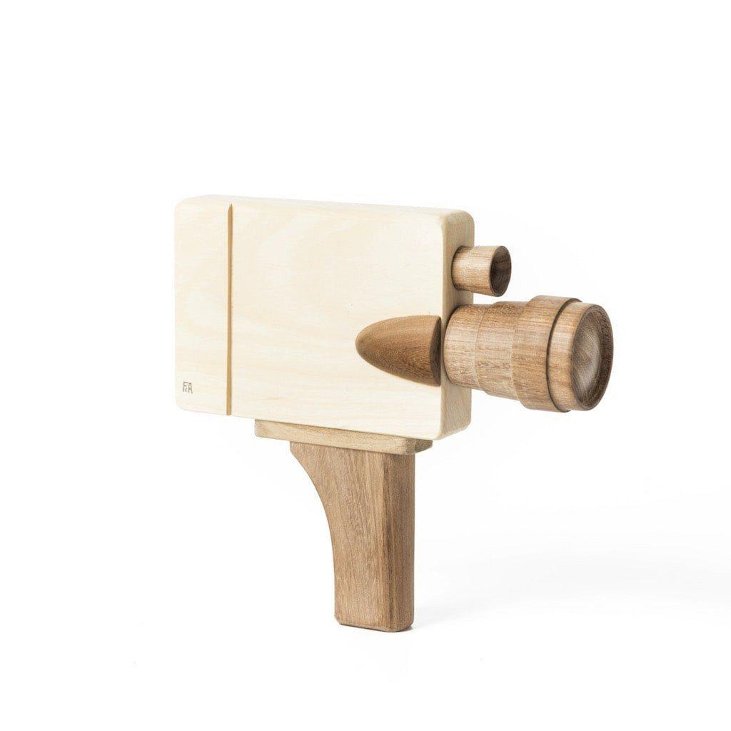 Filmkamera aus Holz