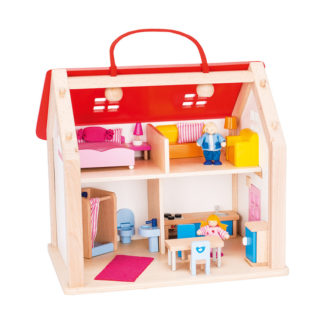 goki Puppenhaus Kofer