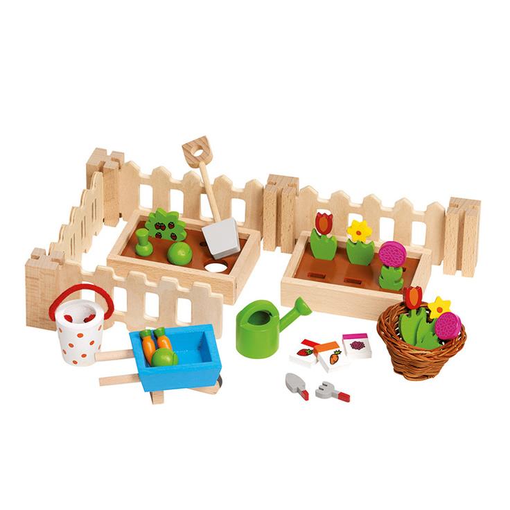 Goki Puppenhaus Zubehoer Garten