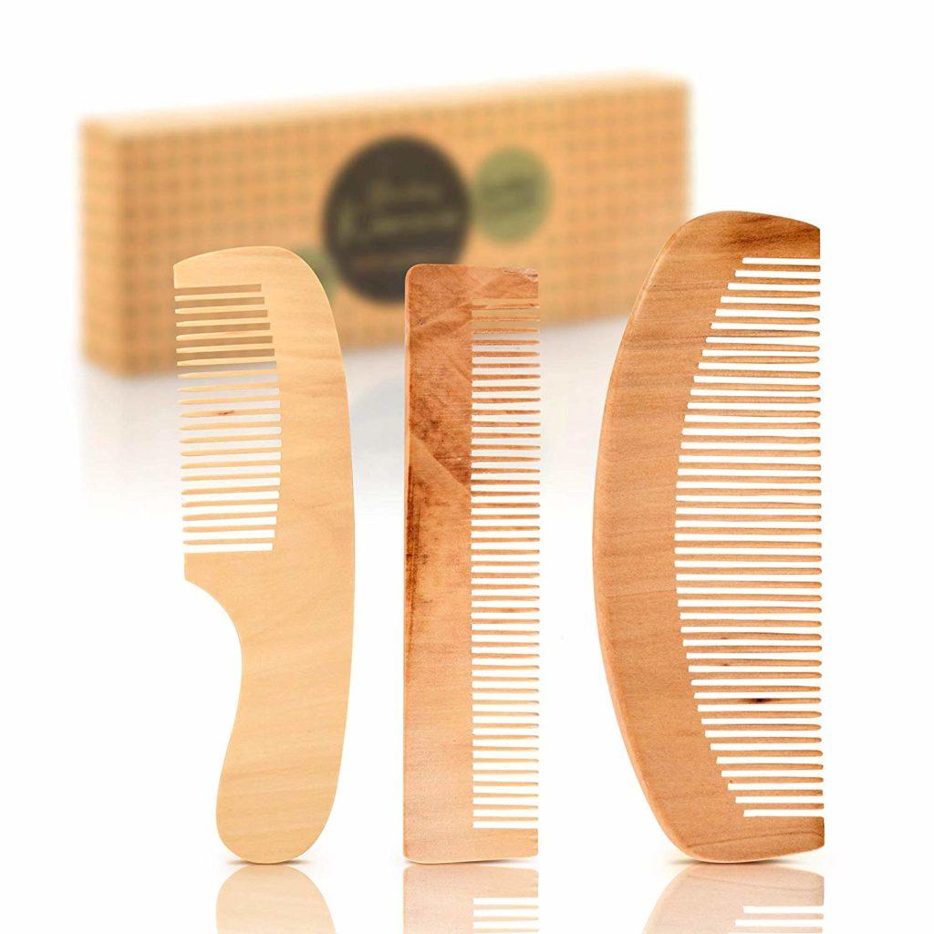 Haarkamm aus Bambus