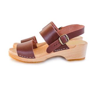 Holz Clogs Sandale Fint