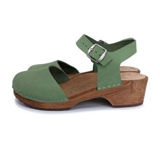 Holz Clogs Sandale Freja