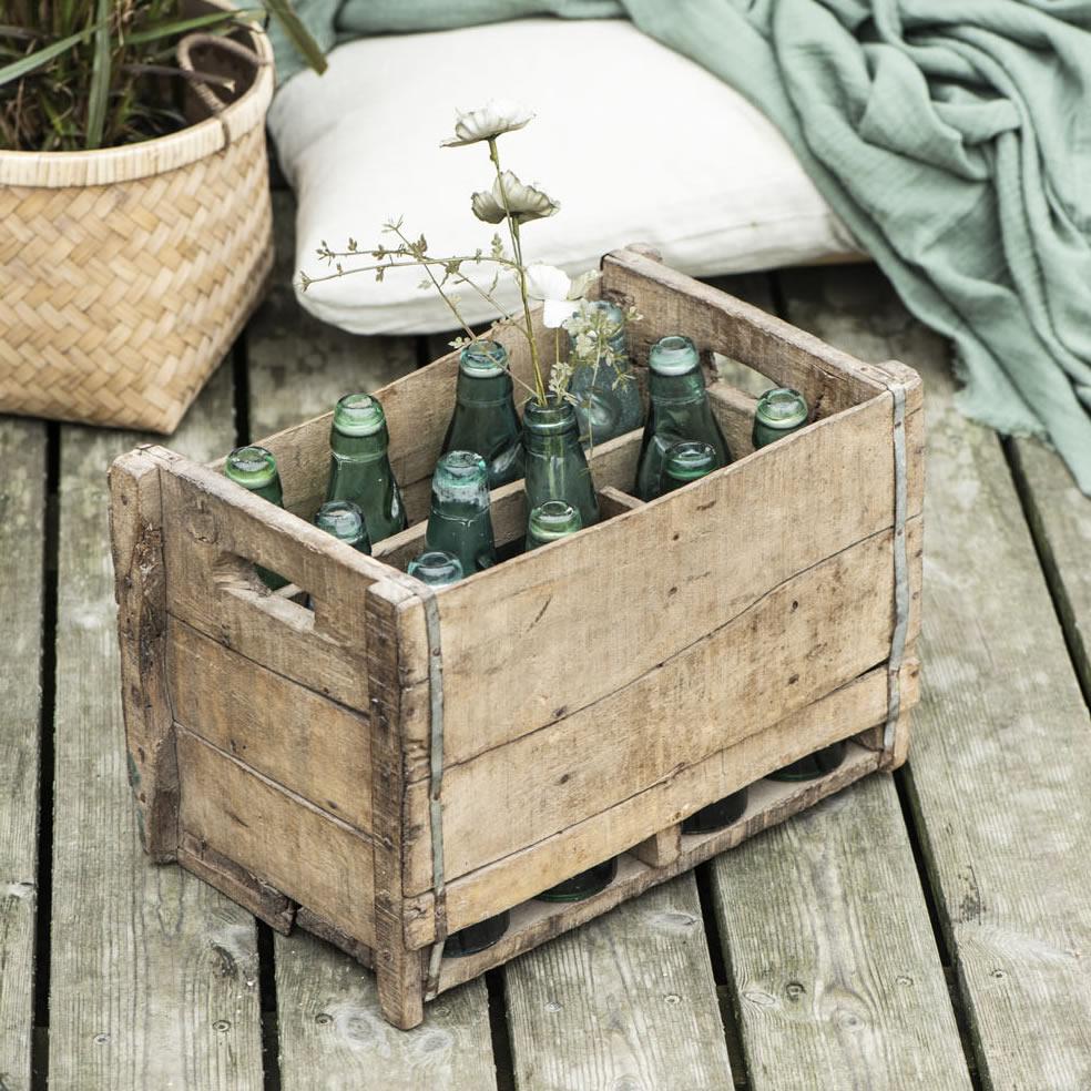 Holz Kiste Recyclingholz