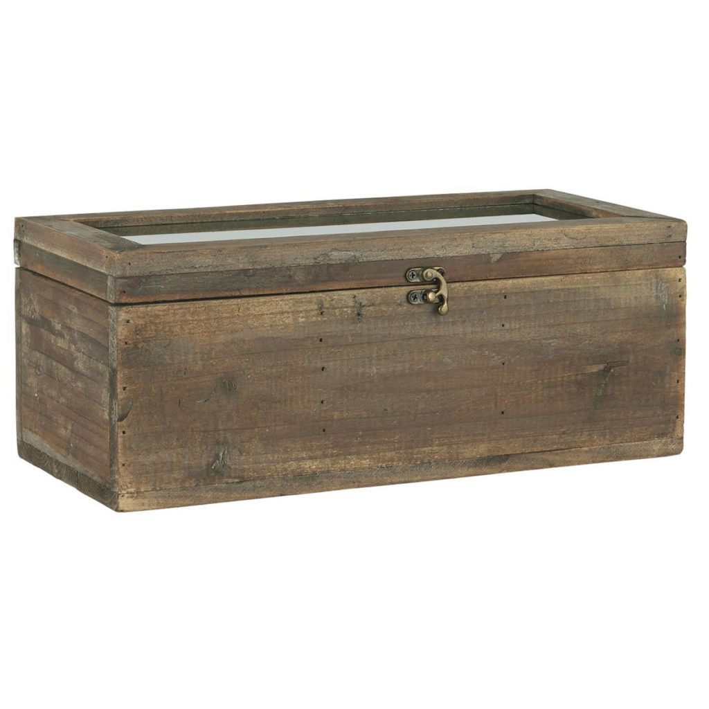 Holz Kiste Rustikal