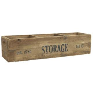 Holz Kiste Vintage Style