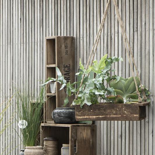 Holz Kiste Vintage Style Dekoration