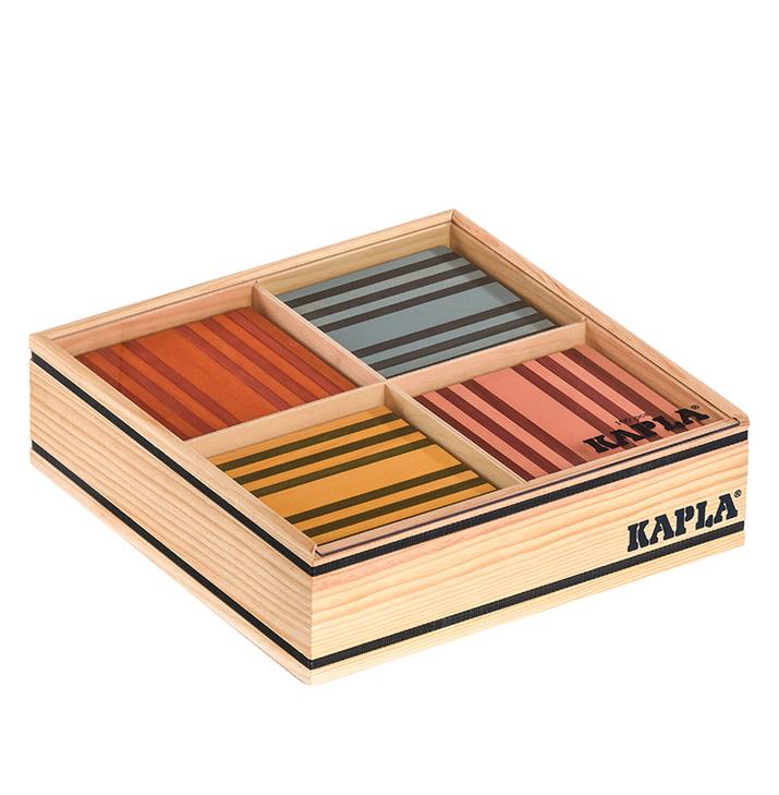 Kapla Holzbausteine 100 farbig