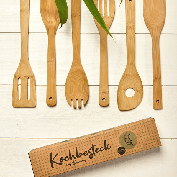 Kochloeffel Set Bambus antibakteriell