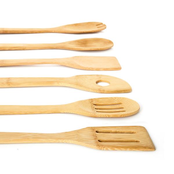 Kochlöffel Set Bambus