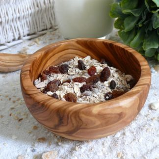 Müslischale Holz