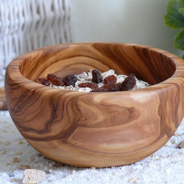 Müslischale Holz Olive