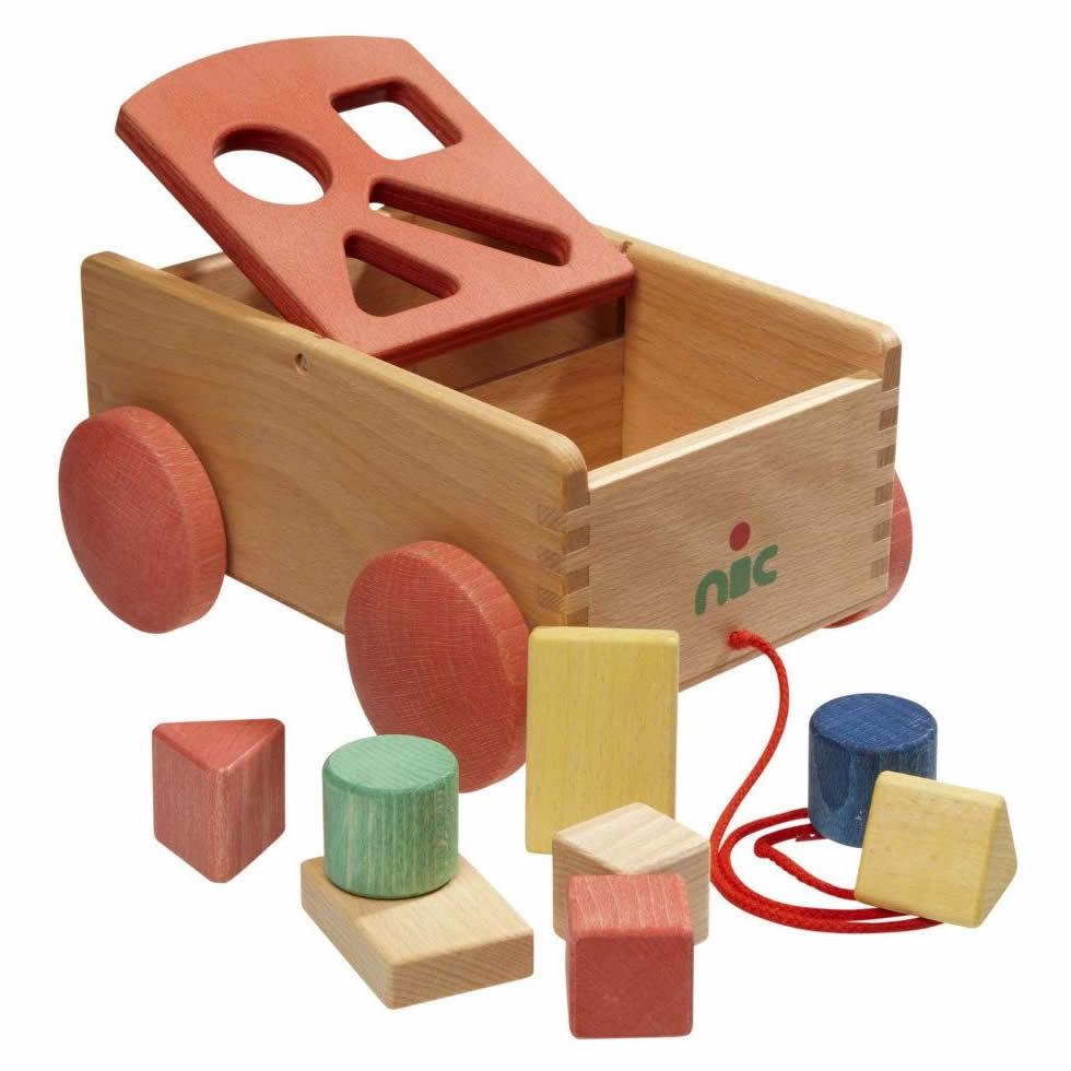 Formenwagen aus Holz
