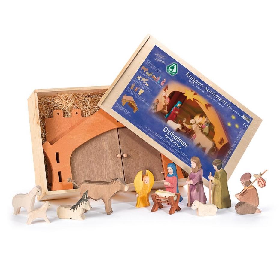 Krippen Set aus Holz