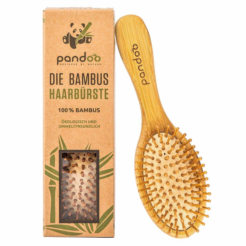 Bambus Haarbürste