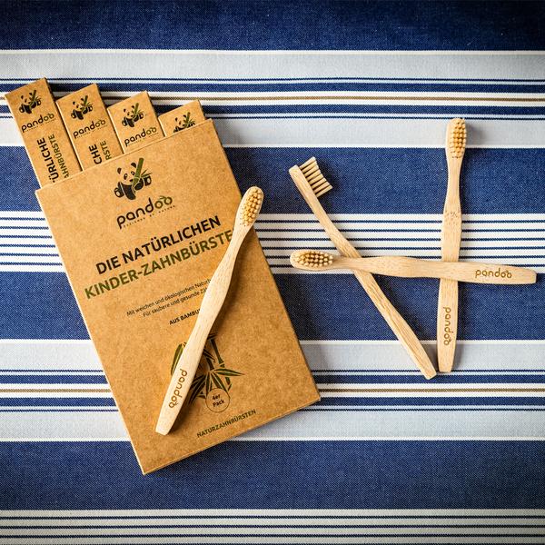 Pandoo Bambus Kinder Zahnbuerste Nachhaltig
