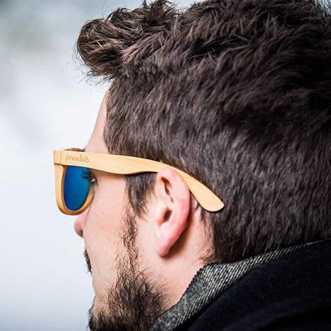 Holz Sonnenbrille