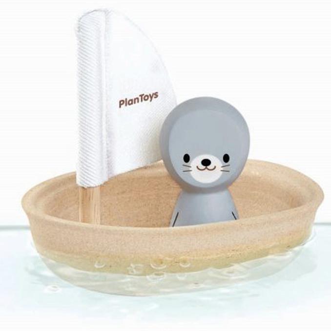 Plantoys Badespielzeug Segelboot