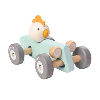 Plantoys Holzauto Kinder Huhn
