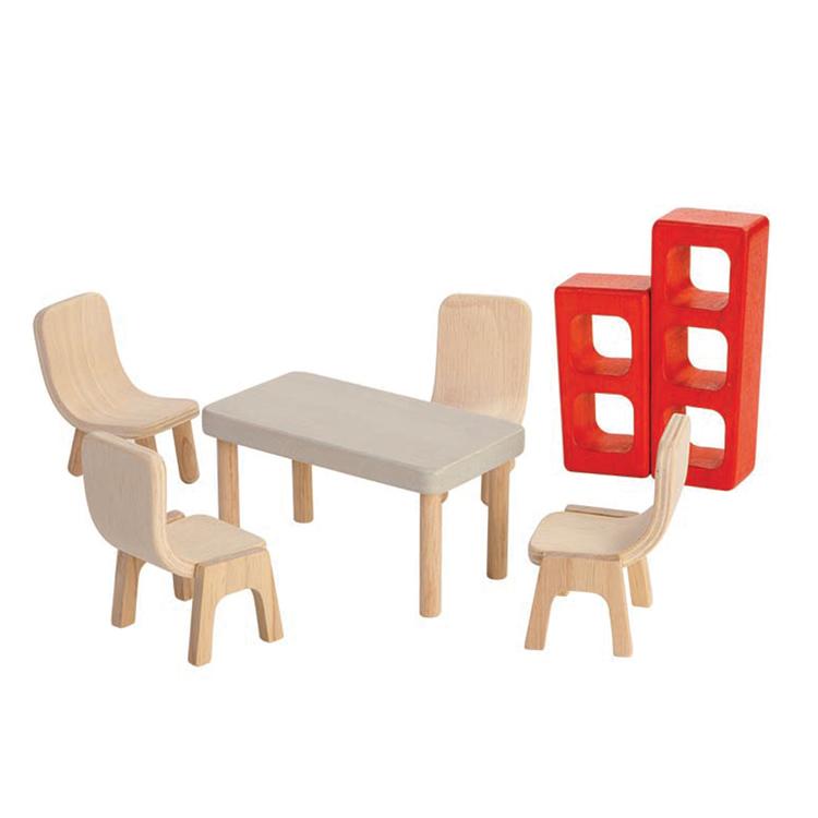 PlanToys Puppenhausmöbel Esszimmer