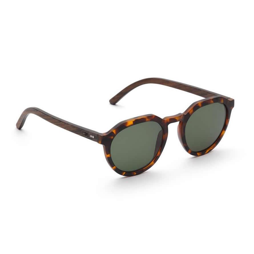 Take A Shot Holz Sonnenbrille Leo