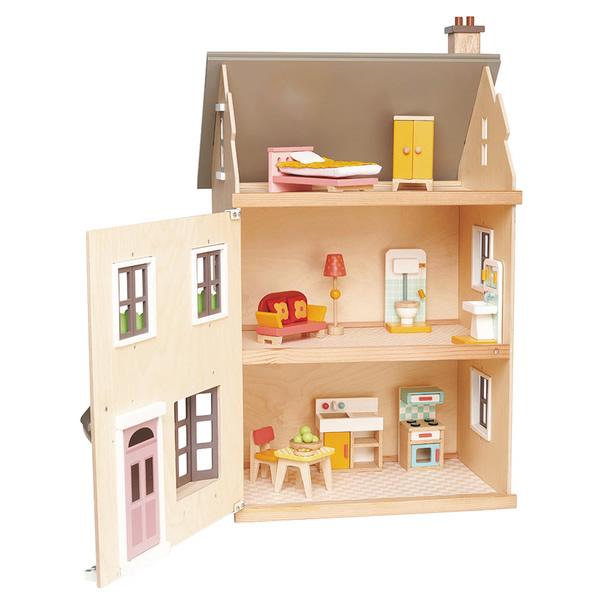 Tender Leaf Toys Puppenhaus Villa offen