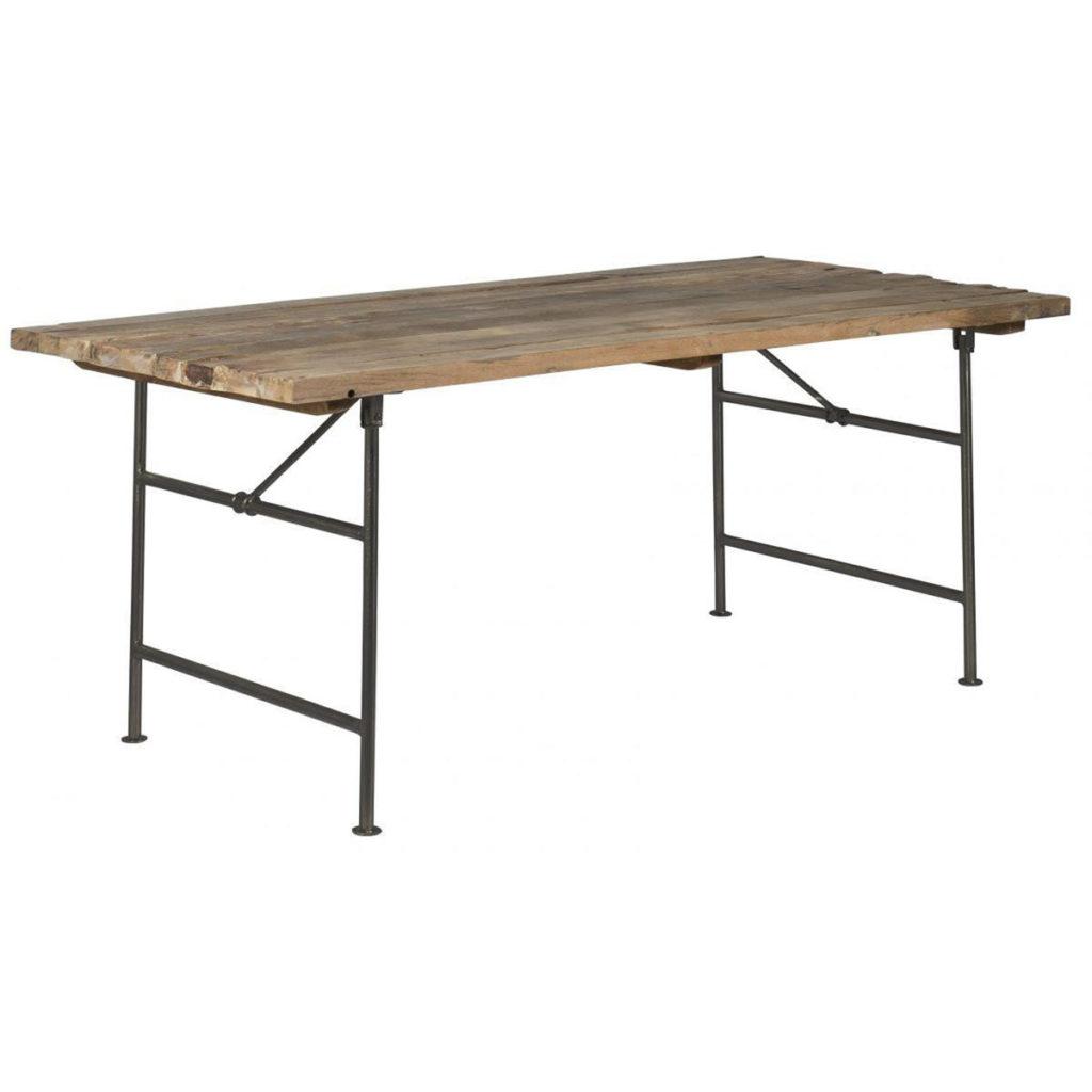 Tisch Recyclingholz