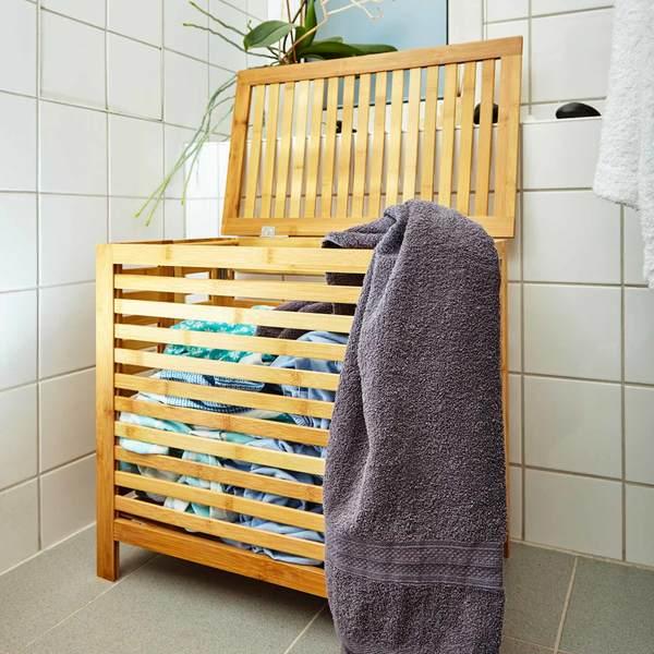Wäschekorb Bambus