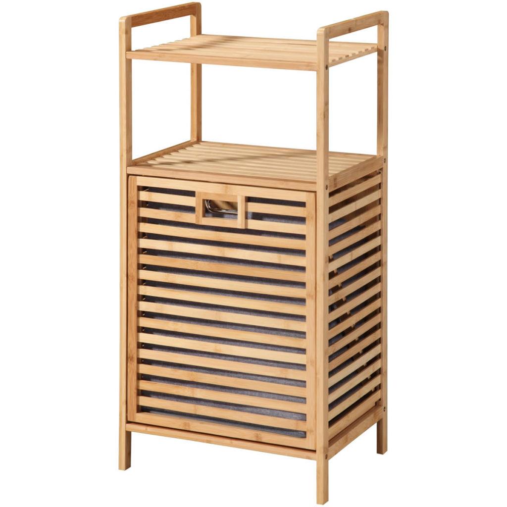 Wäschetruhe Bambus