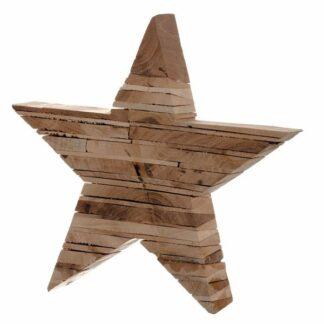 Weihnachtsdeko Holzstern