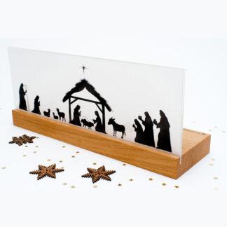 Weihnachtskrippe Bethlehem Eiche
