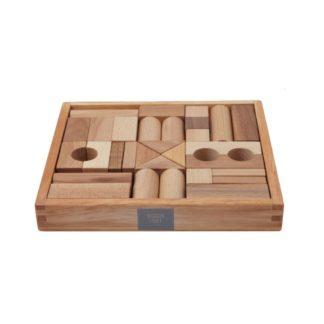 Wooden Story Holzkloetze Natur 30 Teilig