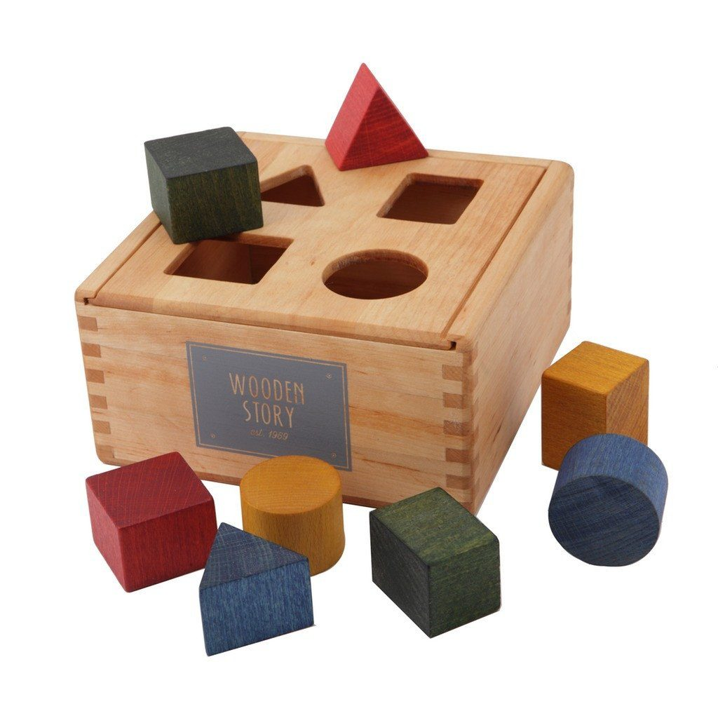 Wooden Story Sortierbox
